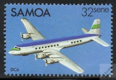 DOUGLAS DC-6 DC6 Commercial Airplane Aircraft Stamp
