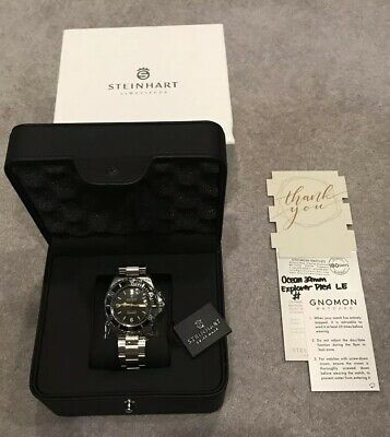 Steinhart 39 Explorer Plexi Limited Edition #19/300 Very Low Number