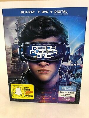 Ready Player One (Blu-Ray / DVD) NEW [X2]