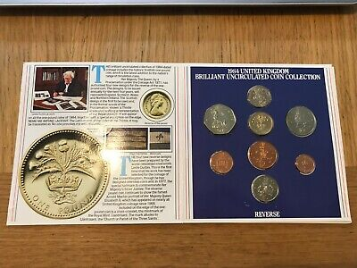 1984 Royal Mint Annual Coin Set Collection BU Brilliant Uncirculated