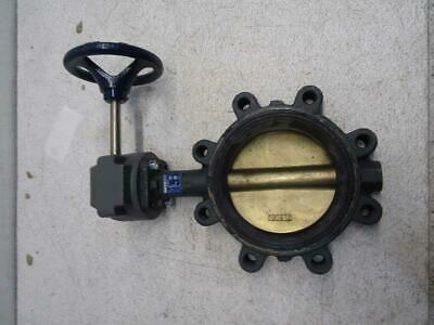 Nibco 6 in 8 Lug 200 psi Butterfly Valve LD-2000-5
