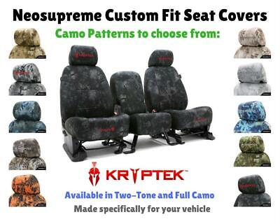Kryptek Camo Custom Fit Seat Covers - Coverking For Nissan Leaf