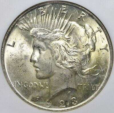 1923 Peace Silver Dollar - NGC MS63 Binion Collection