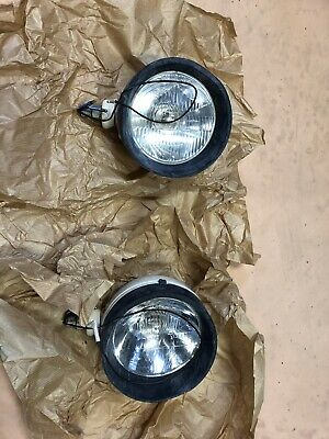 New Old Stock Tractor Head  Lights - Can Suit Ford 8210 Tw 30 Series Etc...