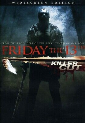 Friday the 13th [Killer Cut Extended Edition] (REGION 1 DVD New) Extended