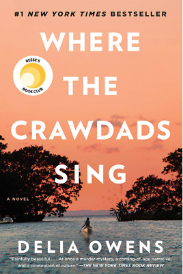 Where the Crawdads Sing by Delia Owens - Hardcover Book Brand New Free Shipping