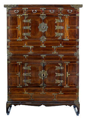 Late 19Th Century Inlaid Chinese Cabinet