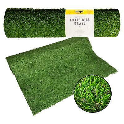Quality Non Fade Artificial Grass Pile Roll 4M X 1M Fake Lawn Quality Durable