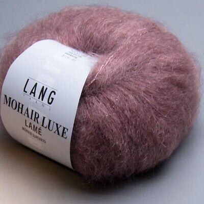 MINT 175 m Wolle MOHAIR LUXE von LANG YARNS - 25 g // ca 0058