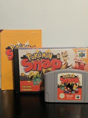 Pokemon Snap for Nintendo 64 N64 Game (PAL) - includes manual, cartridge & case