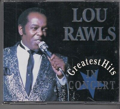 LOU RAWLS Greatest Hits In Concert 2-CD BOX DISKY HOLLAND MINT