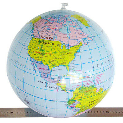 40cm Inflatable Globe Education Geography Toy Map Balloon Beach Ball New Toys**