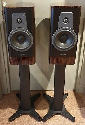 EX-DISPLAY DYNAUDIO CONTOUR 20 Loudspeakers in Rosewood Finish c/w Stands