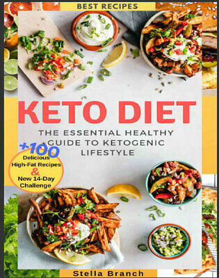 Keto Diet – The Essential Healthy Guide to Ketogenic Eb00k/PDF - FAST Delivery