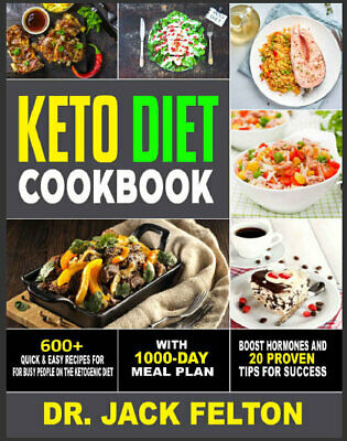 Keto Diet Cookbook – 600+ Quick & Easy Recipes For Eb00k/PDF - FAST Delivery