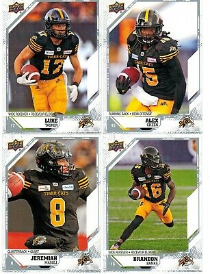 2019 Upper Deck CFL Base Card Pick from List to Complete Set/Collection