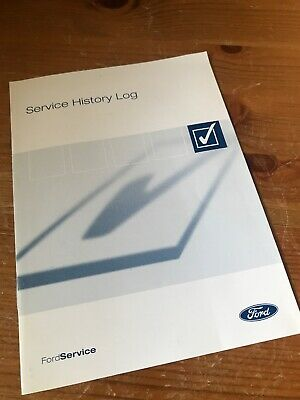 FORD SERVICE HISTORY BOOK WITH 1 STAMP  2004 No Customer Details