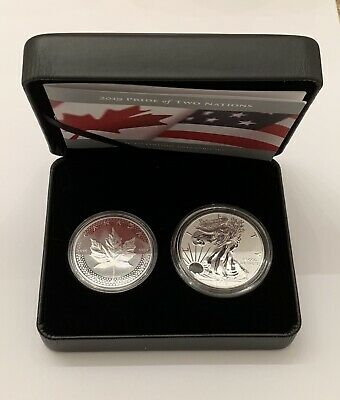 2019 Pride of Two Nations Limited Edition Two-Coin Set - Canada Version