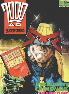 2000AD ft JUDGE DREDD - PROGS 601 to 700 - 100 Issues - VGC - 1986/1988
