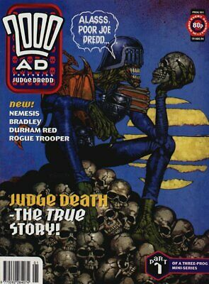 2000AD ft JUDGE DREDD - PROGS 901 to 1000 - 100 Issues - EXCELLENT - 1994/1996