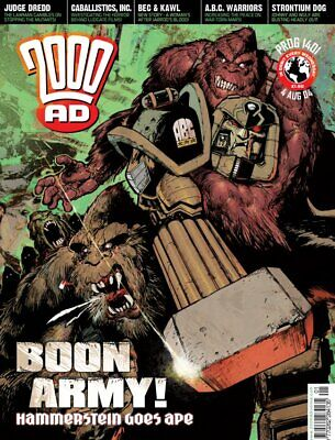 2000AD ft JUDGE DREDD - PROGS 1401 to 1500 - 100 Issues - EXCELLENT - 2004/2006