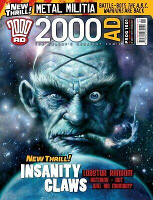 2000AD ft JUDGE DREDD - PROGS 1601 to 1700 - 100 Issues - 2008/2010 - NEW!!