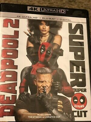 Deadpool 2 (4K Ultra HD/Blu-ray, 4-Disc, 2018)LIKE NEW