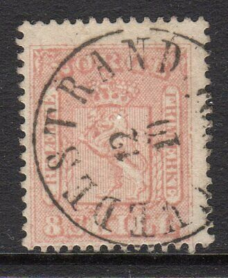 Norway 1863 8sk fine used