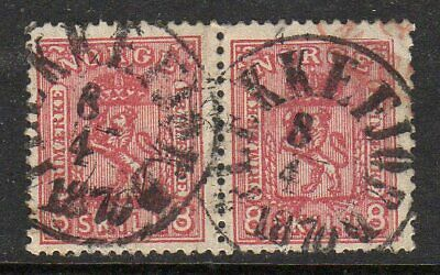 Norway 1867 8sk in a fine used pair