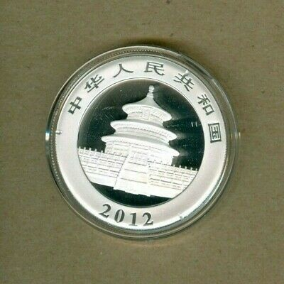 2012 China Panda UNC One Ounce Silver Coin