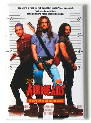 Airheads FRIDGE MAGNET (2.5 x 3.5 inches) movie poster