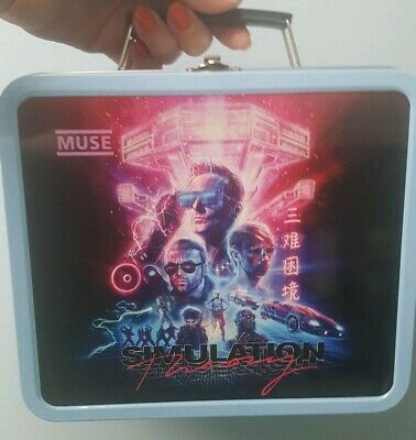 Muse Simulation Theory Limited Edition VIP Lunchbox & Poster - London 01/06/19