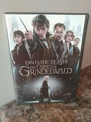 Fantastic Beasts: The Crimes of Grindelwald (DVD, 2018) LIKE NEW