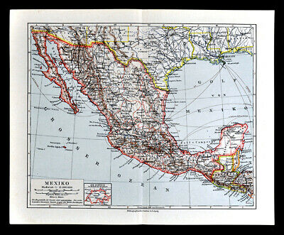 1942 ANTIQUE MEXICO Map Vintage Map of Mexico & Baja ... on aerial map of cozumel, street map of cozumel, walking map of cozumel, road map of cozumel, blank map of cozumel, satellite map of cozumel,