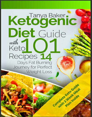 Ketogenic Diet Guide with 101 Keto Recipes – 14 Days Eb00k/PDF - FAST Delivery