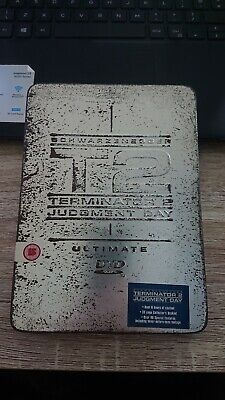 Terminator 2 T2 Judgment Day - Limited Black Tin Edition DVD Schwarzenegger