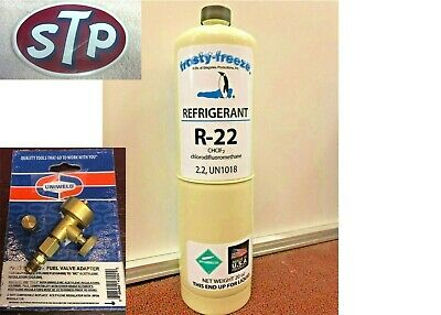R22, R-22, Refrigerant 22, Air Conditioning, Refrigeration, 20 oz, FREEON 22