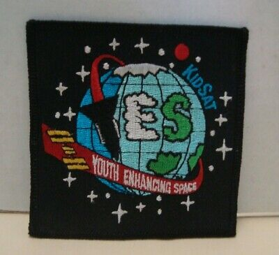 NASA Patch Youth Enhancing Space KidSat Souvenir Embroidered Iron On