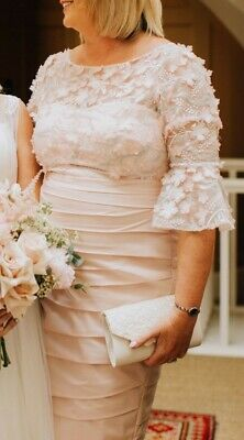 Mother of bride/groom dress by Veromia. Size 16. Blush pink.
