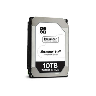 "HGST 0F27604 Ultrastar He10 - 3.5"" - 10000 GB - 7200 RPM 10TB - SATA 6Gb/s"