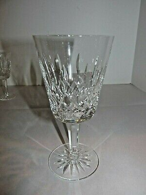 Waterford Irish Crystal Lismore Water Goblet (s) Glass Gothic Mark 16 Point EUC