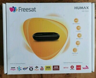 HUMAX HB-1100S FREESAT HD TV Receiver Over 200 Channels