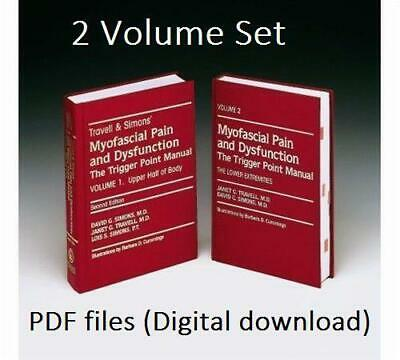 Travell & Simons` Myofascial Pain and Dysfunction: The Trigger Point Manual 1&2