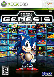 Sonic's Ultimate Genesis Collection (Microsoft Xbox 360, 2009) GOOD