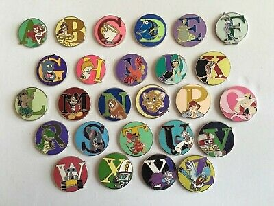 Disneyworld  Complete Alphabet Set 26 Letters From U.s.a. Not China