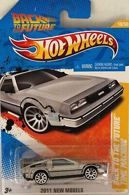 Hotwheels Back to the future Delorean USA mint carded