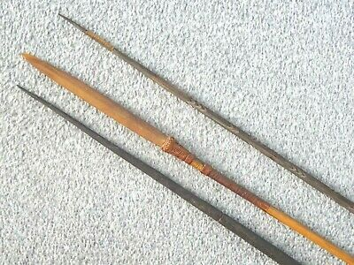 3 ethnic spearfishing item, of some age, complete and with no damage. Vgc