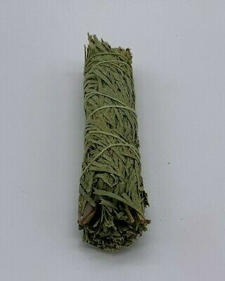 1 Cedar Sage Smudge Stick / Wand - House Cleansing Negativity Removal