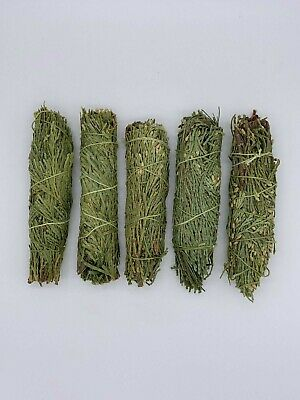 5x Cedar Sage Smudge Sticks / Wands - House Cleansing Negativity Removal