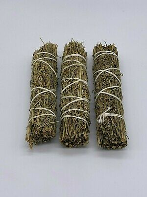 3x Desert Sage Smudge Sticks/Wands - Purification, Cleansing, Negativity Removal